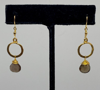 Gold Wrapped Earrings