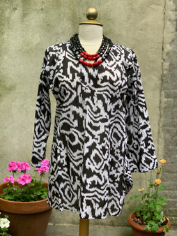 Black & White Tunic