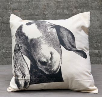 Happy Goat Pillow