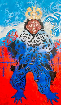 Wouéy - by Artist Tamangoh Vancayseele