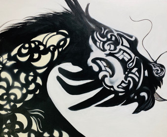 'Dragon' - by Artist Tamangoh Vancayseele