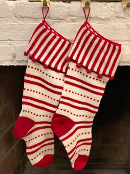 Candy Cuff Christmas Stocking