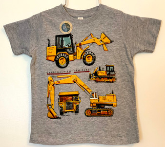 Construction Vehicle Tee Shirt