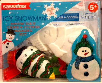 Icy Snowman Cake and Cookie Making Kit
