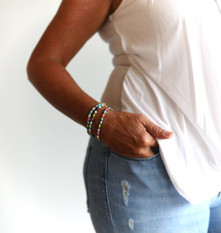 Maasai Paper Bead Bracelet