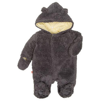 Magnetic Bears Steel Fleece Pram