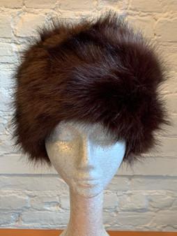 Mink Tone Faux Fur Hat