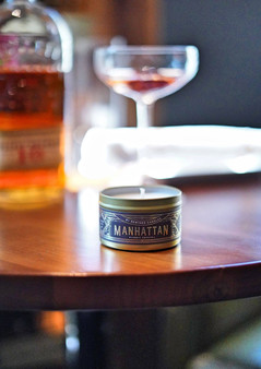 Manhattan Travel Tin Candle