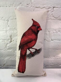 Red Cardinal Pillow