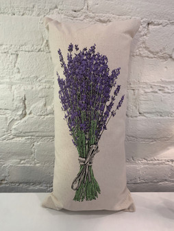 Lavender Bouquet Pillow