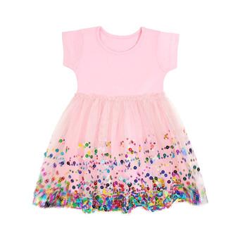 Pink Confetti Tutu Dress