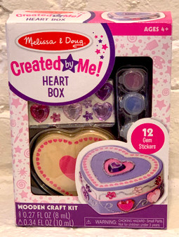Created by Me Heart Box