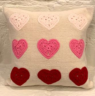 Multi Heart Pillow