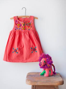 Coral Jardinita Dresses
