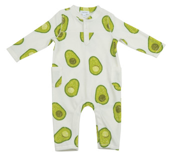 Avocado Terry Romper
