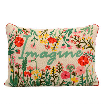 Imagination Floral Pillow