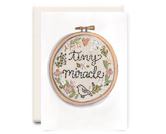 Tiny Miracle Card
