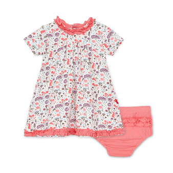 Beatrix Floral Dress & Diaper Cover.