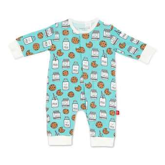 Milk & Cookies Modal Magnetic Coverall.