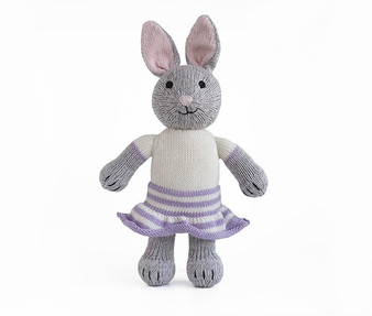 Knit Cotton Bunny in Skirt