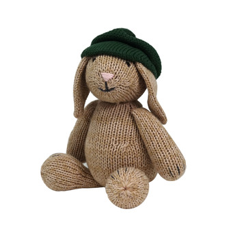 Brown Bunny with Beret