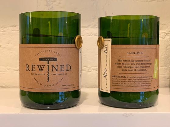 Rewind Sangria Candle
