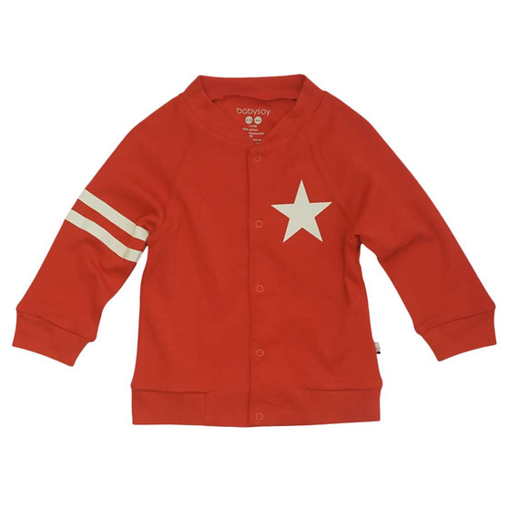 All-Star Bomber Jacket - Red