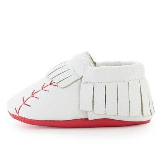 Home Run Leather Moccasin