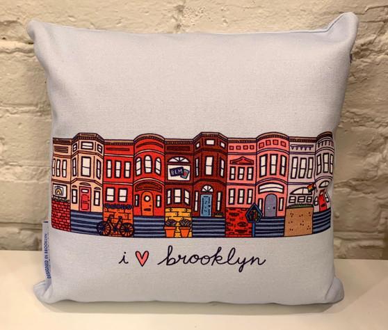 I Love Brooklyn Pillow
