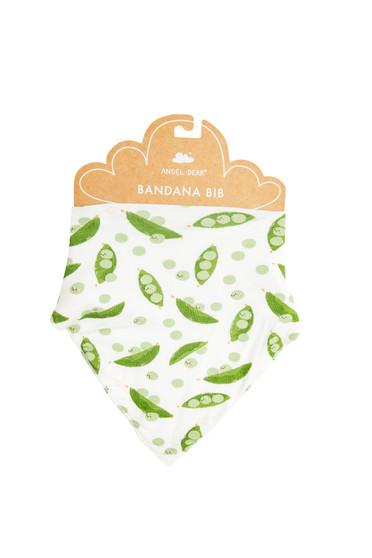 Sweet Peas Bandana Bib