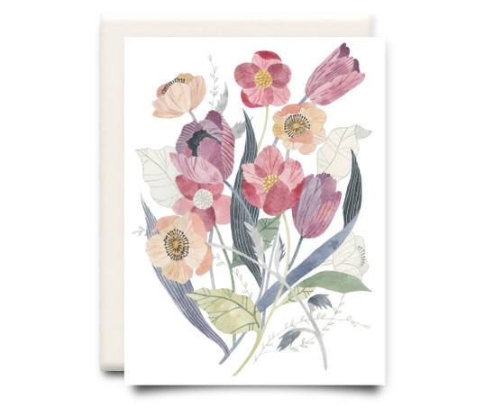 Floral Bouquet Card