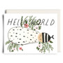 Hello World Baby Card