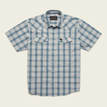 H BAR B SNAPSHIRT NECHES PLAID SS-MENS