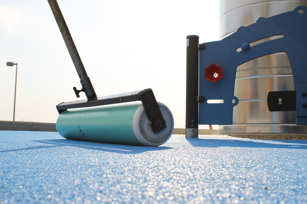 Pour in Place Roller by AquaSeal Resurfacing