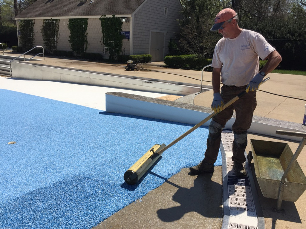 "10"" Pour in Place Roller by AquaSeal Resurfacing"