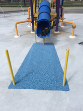 "3' X 5' X 2"" Safety Surfacing Landing Pad"