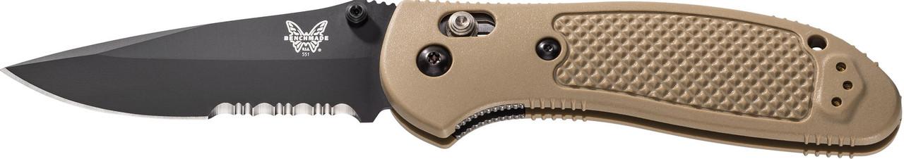 BENCHMADE 551SBKSN-S30V GRIPTILIAN Axis Folding Knife NEW S30V