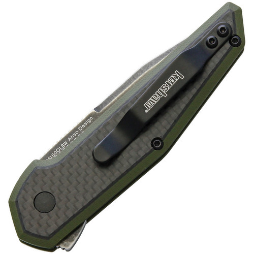 Kershaw Fraxion Linerlock Olive BW
