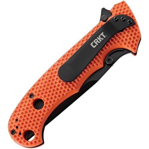 CRKT Hammond Cruiser Linerlock Orange/Black Part Serrated (CR7914ORB)