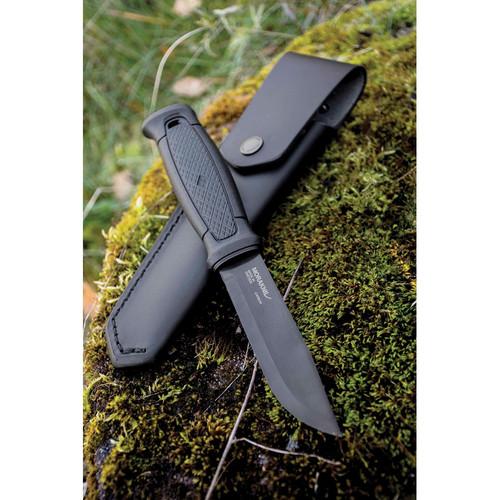 Mora Garberg Carbon Steel - Leather sheath