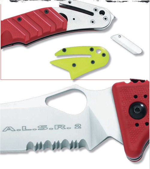 Fox Knives A.L.S.R. Air Land & Sea Rescue - ALSR-SF