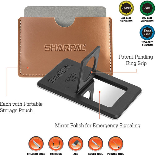 Sharpal Credit Card Diamond Stone Set