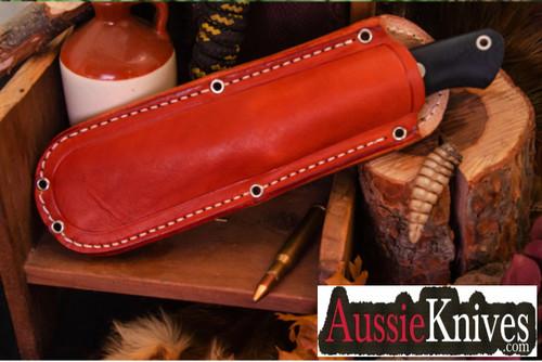 Bark River Knives Fox River EXT-2 Cru-Wear Black Canvas Micarta