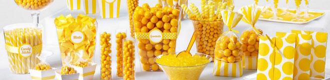 Yellow Candy Buffet