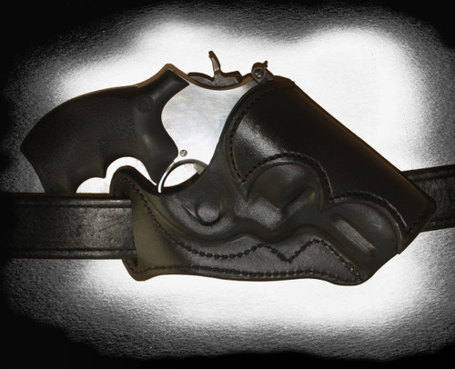 Cross Draw, revolver, leather revolver holster