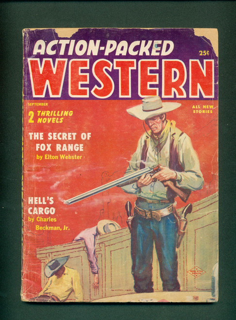 Action-Packed Western, Sep. 1956