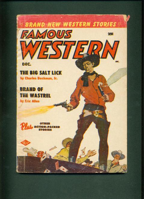 Famous Western, Dec. 1955