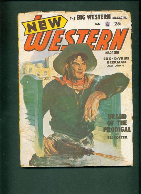 New Western, Jan. 1952