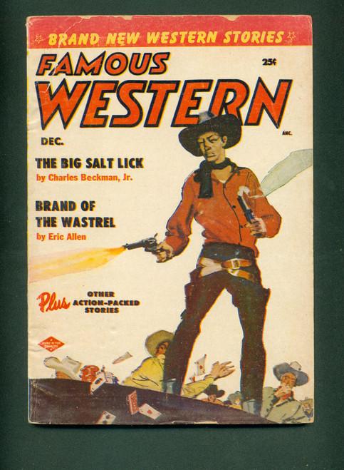 Famous Western, Dec. 1955_