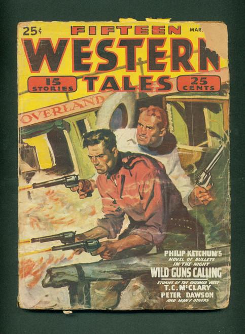Fifteen Western Tales, Mar. 1947_